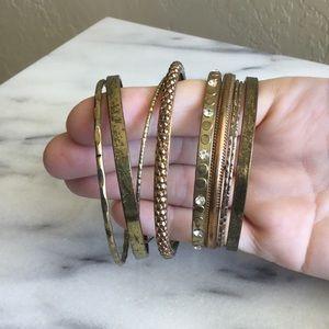 Brass Copper Bracelet Bundle